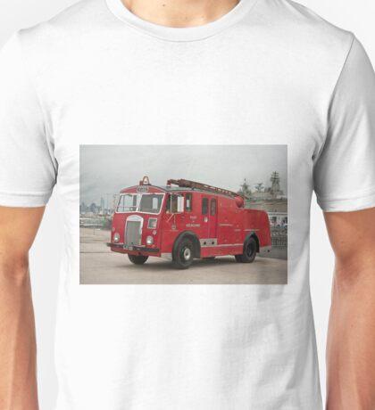 0285 Little Red Fire Truck Unisex T-Shirt