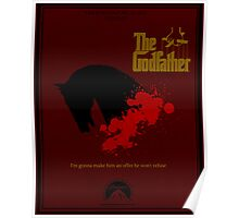 The Godfather Minima Poster