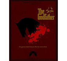 The Godfather Minima Photographic Print