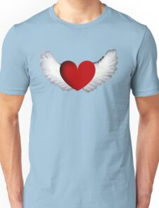 Heart with Wings T-Shirt