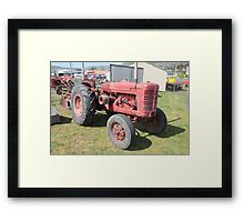 Hobart Show Vintage Equipment No 6 - Canendar 2012 Framed Print