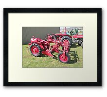 Hobart Show Vintage Equipment No 7 - Canendar 2012 Framed Print
