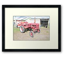Hobart Show Vintage Equipment No 8 - Canendar 2012 Framed Print