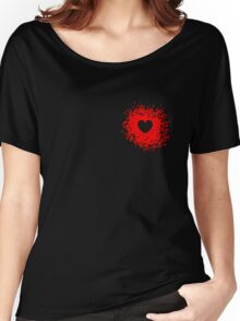 The Heart With-In Women's Relaxed Fit T-Shirt