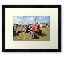 Hobart Show Vintage Machinery - No 9 Calendar 2012 Framed Print