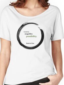 Inspirational Quote About Creativity Women's Relaxed Fit T-Shirt