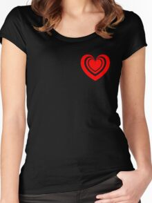 Radiant Heart Women's Fitted Scoop T-Shirt