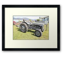 Hobart Show Vintage Machinery - No 10 Calendar 2012 Framed Print