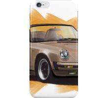 Porsche 911 Cabrio  iPhone Case/Skin