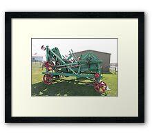 Hobart Show Vintage Machinery - No 15 Calendar 2012 Framed Print