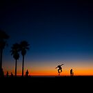 Skaters @ Dusk by Zohar Lindenbaum