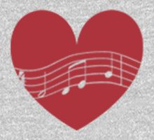 Musician's Heart Kids Clothes