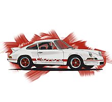 Porsche 911 Carrera Photographic Print