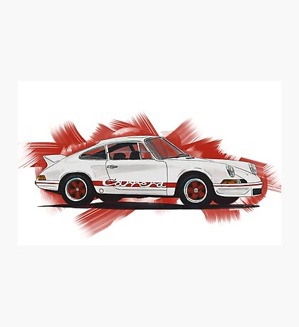 Porsche 911 Carrera Photographic Print