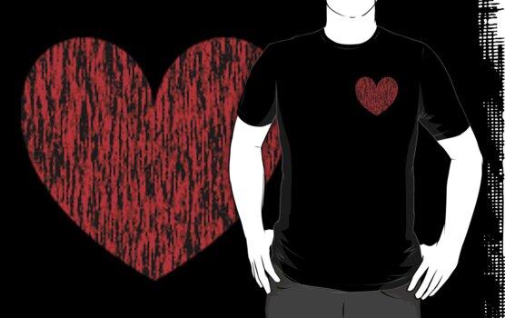 Fiber Heart by Kingofgraphics