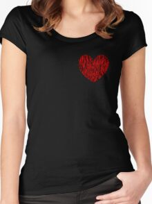 Fiber Heart Women's Fitted Scoop T-Shirt