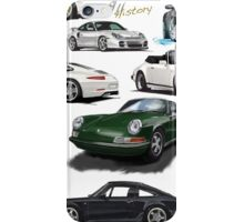 Porsche 911 History iPhone Case/Skin
