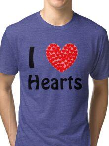 I <3 Hearts Tri-blend T-Shirt