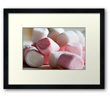 Mallow Out Man Framed Print