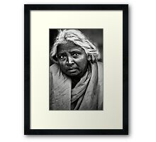 Woman Portrait III Framed Print