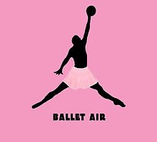 Ballet Air Street Art by dashiner