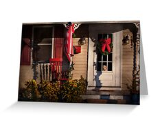 Winter - Christmas - Clinton, NJ - How much is that doggy in the window Greeting Card