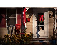 Winter - Christmas - Clinton, NJ - How much is that doggy in the window Photographic Print