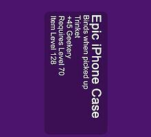 Epic iPhone Case by mininsomniac
