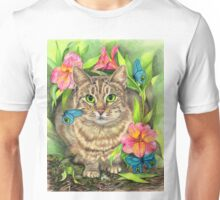 Among the Flowers Unisex T-Shirt