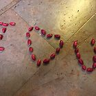 I LOVE YOU - Written in Miracle fruit - Kennedy, North Queensland, Australia by myhobby