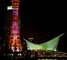Kobe Port Tower and Maritime Museum by Lynnette Peizer