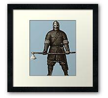Viking Warrior 01 Framed Print