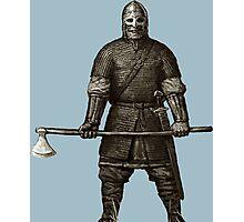 Viking Warrior 01 Photographic Print