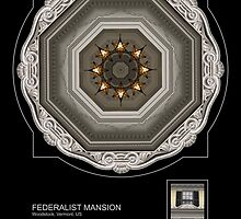 FEDERALIST MANSION, WOODSTOCK VT. by PhotoIMAGINED
