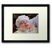 For Unto Us A Child Is Born Framed Print