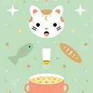 Star Kitten's Lunch  by CarlyWatts