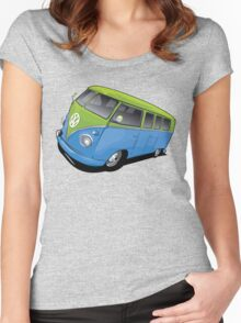 Volkswagen Camper Women's Fitted Scoop T-Shirt