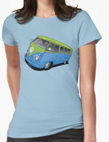 Volkswagen Camper Womens Fitted T-Shirt