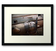 Transportation - Plane - A little rough around the edges Framed Print