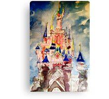 Princess castle Canvas Print