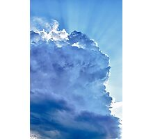 Cloud Photographic Print
