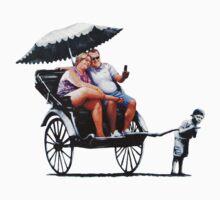 Banksy - Rickshaw Baby Tee