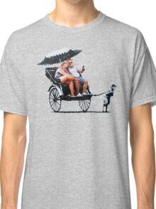 Banksy - Rickshaw Classic T-Shirt