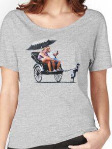 Banksy - Rickshaw Women's Relaxed Fit T-Shirt