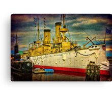 The Cruiser Olympia Canvas Print