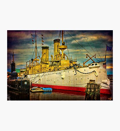 The Cruiser Olympia Photographic Print
