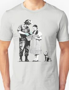 "Banksy ""Stop and Search"" T-Shirt"