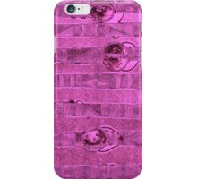 Abstract #1 in Magenta iPhone Case/Skin