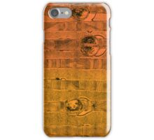Abstract #1 in Graduated Orange iPhone Case/Skin