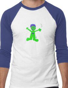Jake's Angel Men's Baseball ¾ T-Shirt